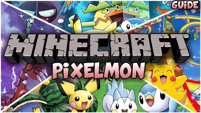 Pixelmon latest and final version download download pixelmon.